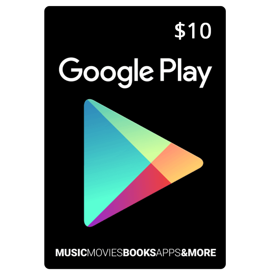 Google Play Card $10