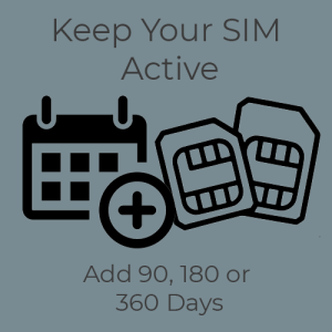 Keep your thai sim active