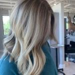 Balayage by hair stylist