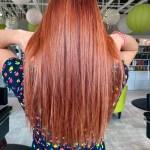 Hair color by Tori Brown, hair stylist