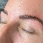 After Brow Lamination