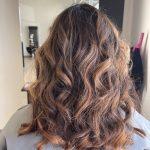 Curly warm brunette by Cherrelle Hunt