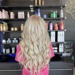 Long blonde by Cherrelle Hunt