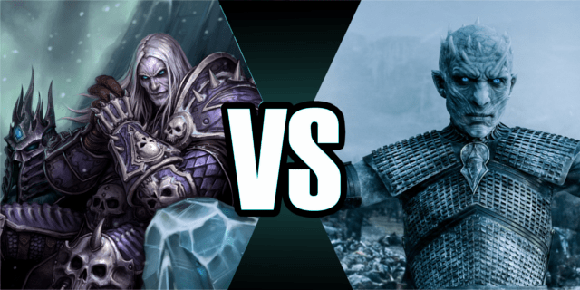 Fall Of The Lich King Wallpaper Wow De Game Of Thrones Lich King Vs Night King