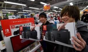 Vendas Liberadas do Nintendo Switch