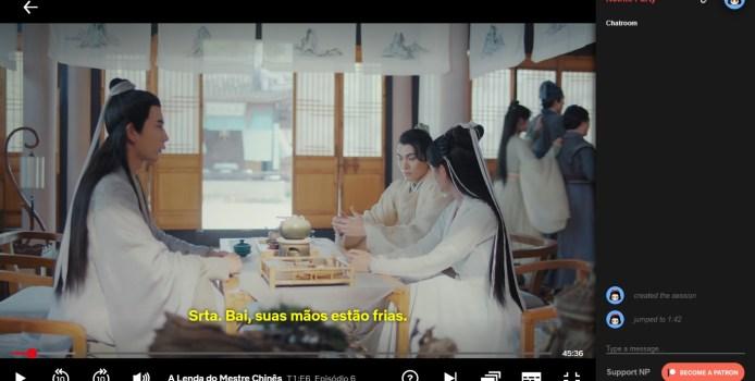 Netflix Party: assista séries e filmes com seus amigos