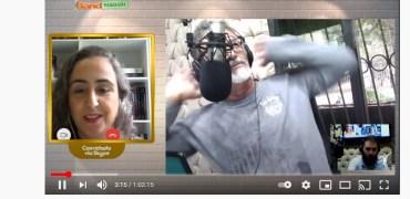 Entrevista para a Rádio Band FM Foz do Iguaçu