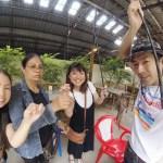 【海老】バンコクの昼間の遊びにどうぞ。子供も大人も楽しめるエビちゃん釣り