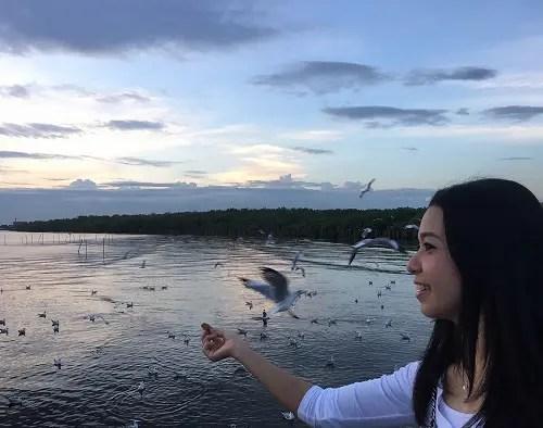 タイの日帰り旅行。Bangpoo Resortで綺麗な夕陽を眺めてきました。