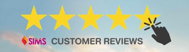 Customer Review - thaisims 4G mobile router rental Thailand Pocket Wifi internet hotspot modem
