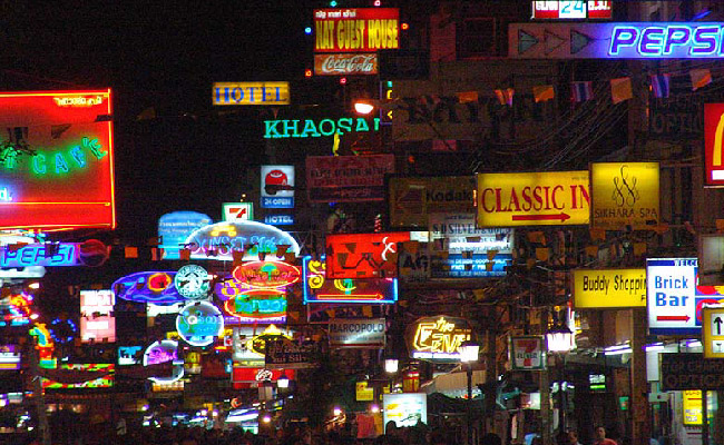 Khao San - ThaiSims Best 4G Mobile Router Rental in Thailand Travel Bangkok One day trip
