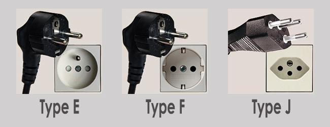 Power Socket Type E F J Thailand ThaiSims