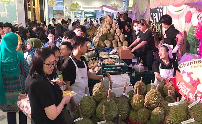 Big C Buffet Fruit thailand thaisims