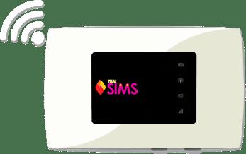 Thailand Best Pocket WiFi Rental ThaiSims WiFi