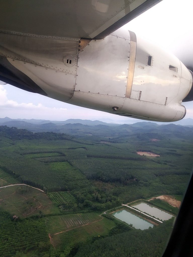 bangkok airways trat flight