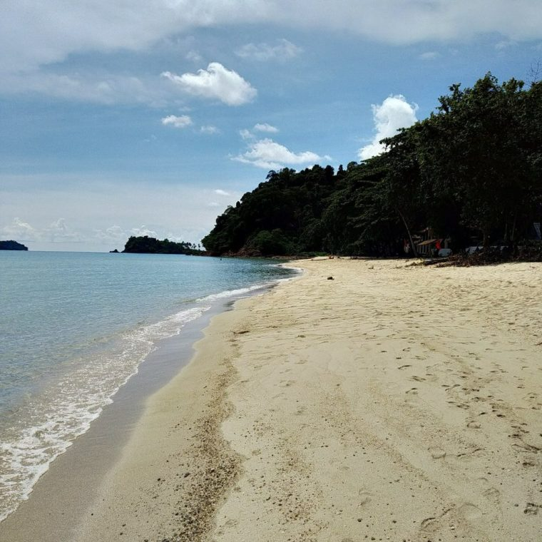Lonely beach Koh Chang