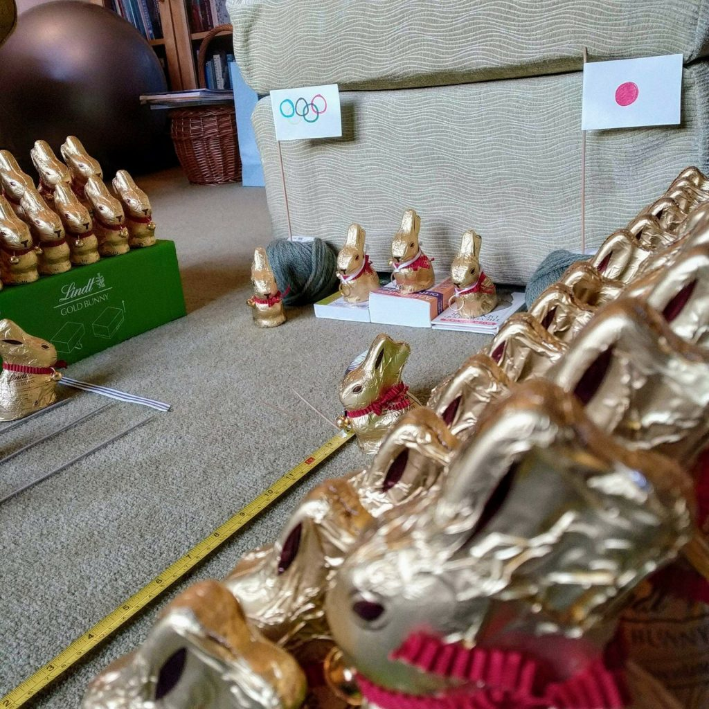 Updated: a tale of 115 Lindt bunnies 15