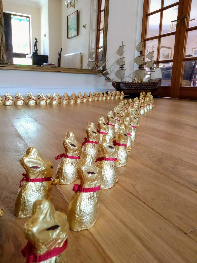 Updated: a tale of 115 Lindt bunnies 8