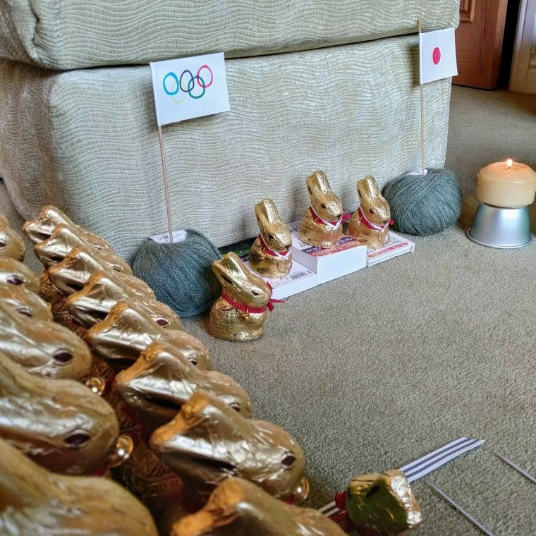 Updated: a tale of 115 Lindt bunnies 17