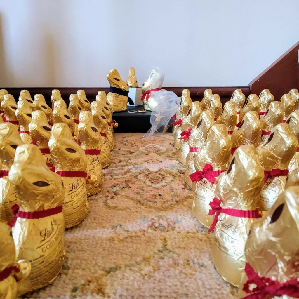 Updated: a tale of 115 Lindt bunnies 5