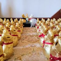 Updated: a tale of 115 Lindt bunnies