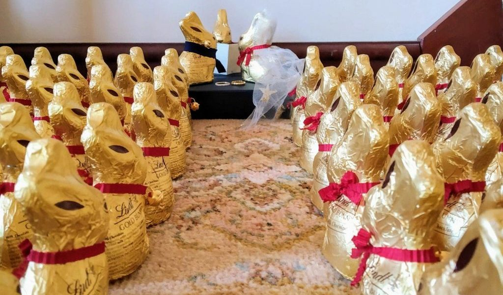 Updated: a tale of 115 Lindt bunnies 1