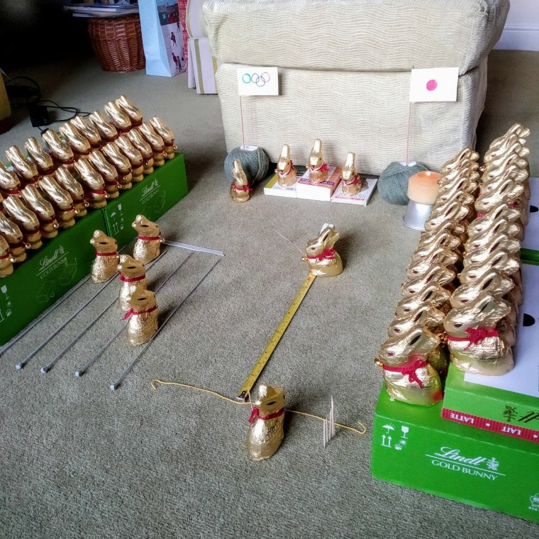 Updated: a tale of 115 Lindt bunnies 12