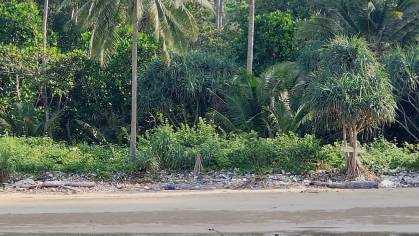 ao sabai koh mook plastic pollution