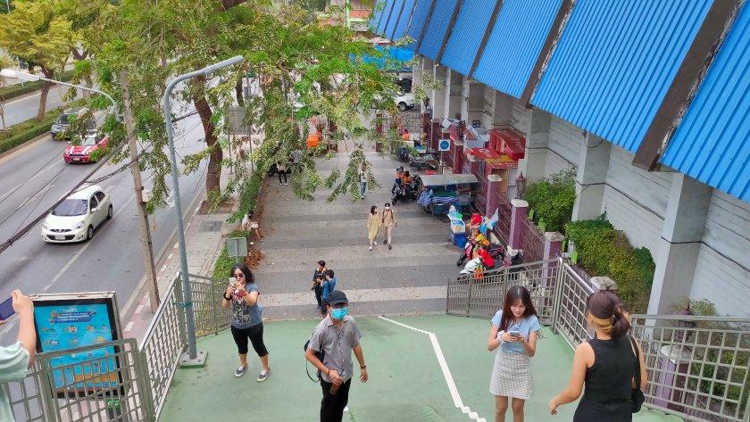 Walking the Green Mile Bangkok: Benjakitti to Lumpini 4