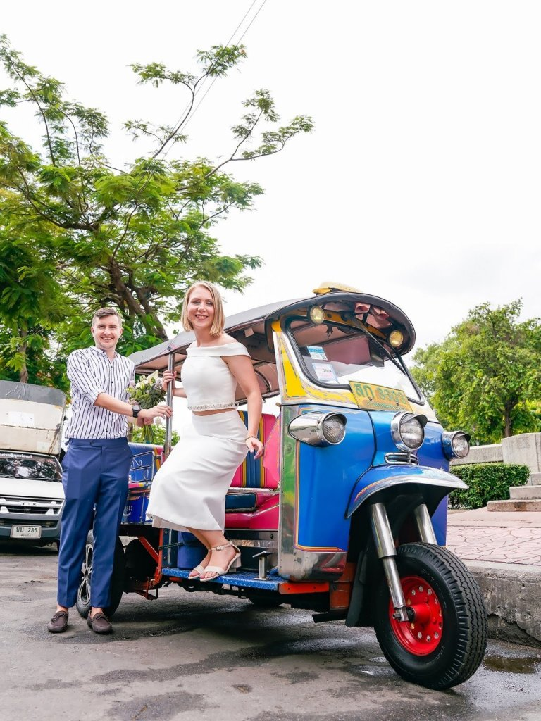 legally married in Thailand