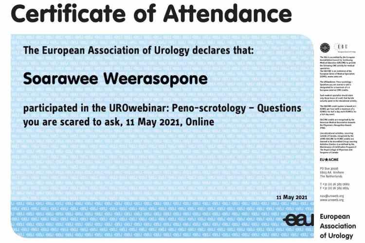 2021 EAU Peno scrotology