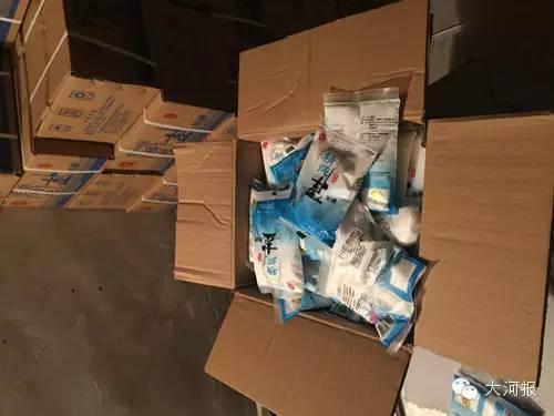 郑州6.14吨有毒假盐被查处 包装袋喷码均一致