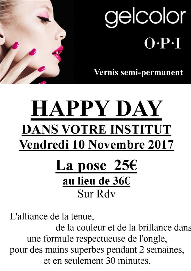 gel color happy day novembre 2017