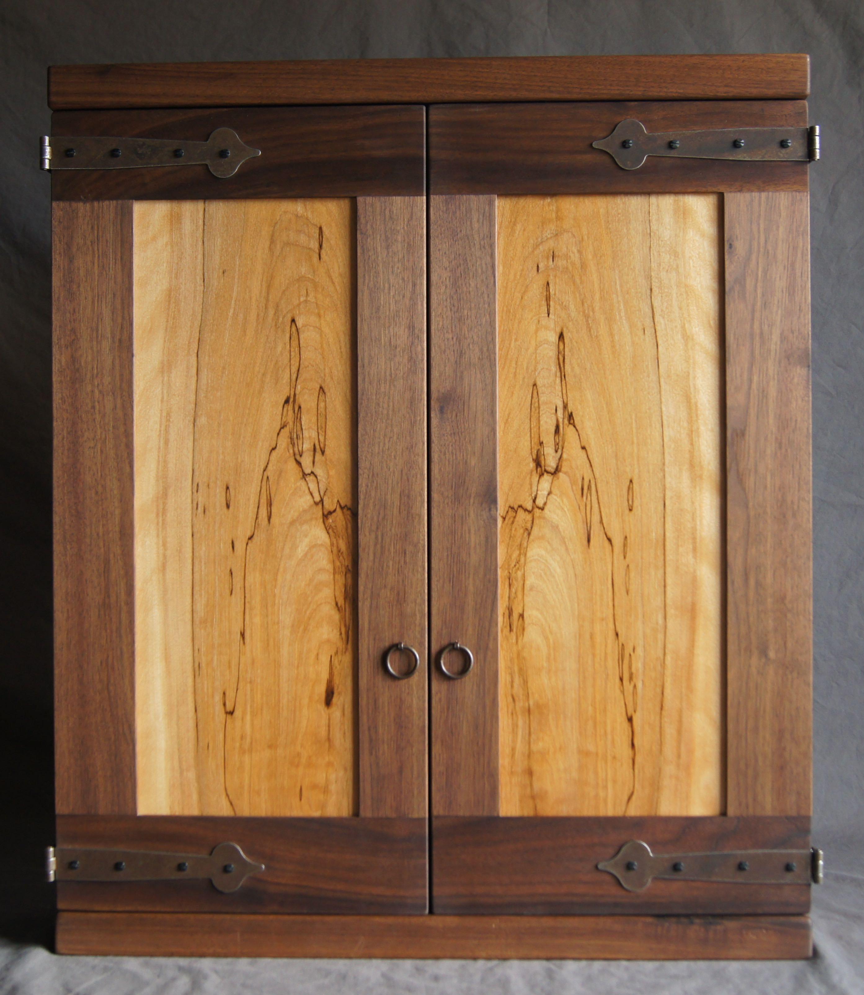 Dart Board Cabinets  Thaler Woodworking Studio