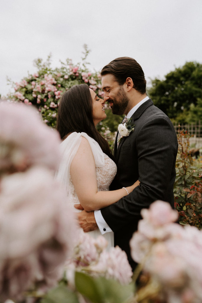 bride and groom east meadow farm ny