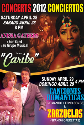 SPRING CONCERTS OF SPANISH & LATIN AMERICAN MUSIC 2012