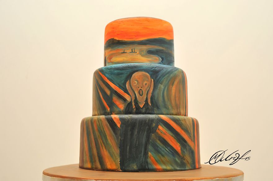Cyprus-based-artist-recreates-famous-masterpieces-on-Cakes-1__880