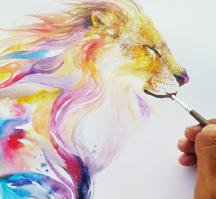 Watercolor-Lead-Me-To-Make-An-Expressive-And-Whimsical-Animal-Illustration11__700