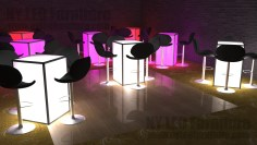 LED-Cocktail-Table-Rental-Brooklyn-NYC