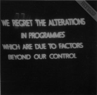 ITV strike caption 1968 Foley Street