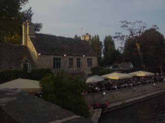View of the Trout Inn pub