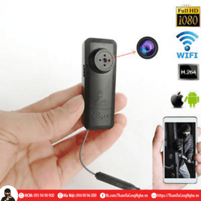camera cúc áo ip wifi