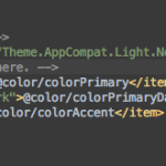 How do I remove the title bar in android studio?