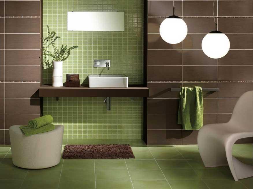 Badezimmer Fliesen Ideen Grun Einfach On Mit Dekorateur