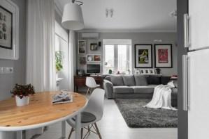 Kleines Wohnzimmer Mit Essbereich Einrichten Kreativ On ...
