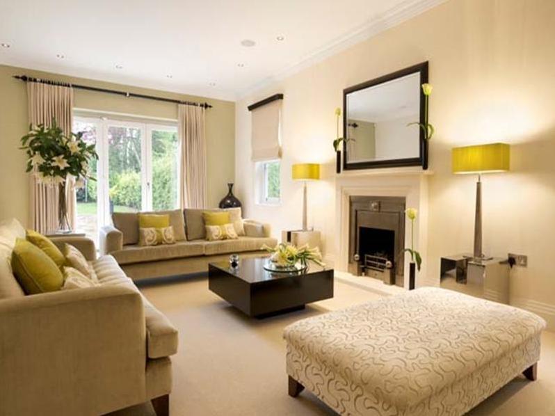 Wohnzimmer Beige Streichen Schn On In Ideen Wandfarbe Teppich Raffrollo 6  Thandinfo