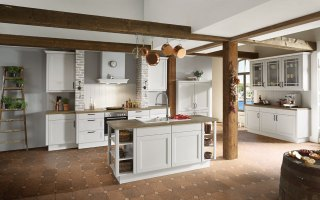 Küchen Holz Modern Mit Kochinsel Charmant On Beabsichtigt ...