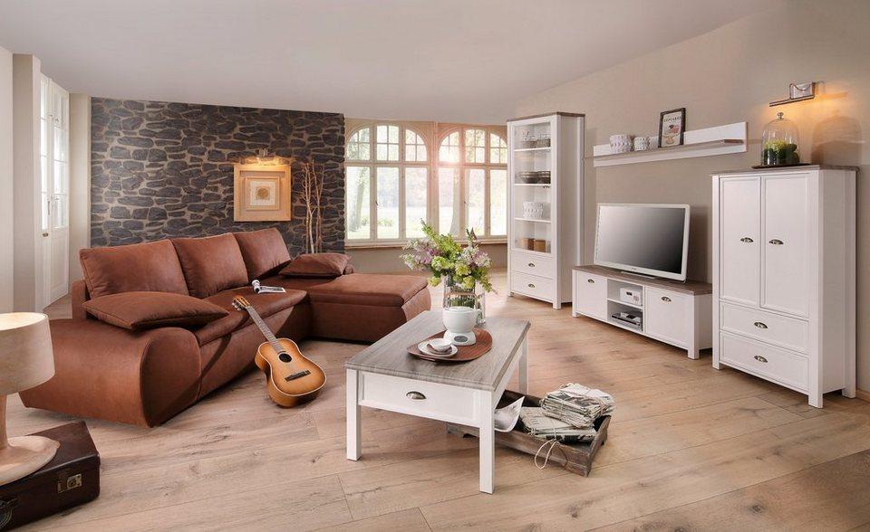 Wohnzimmer Landhausstil Wandfarben Dekoration