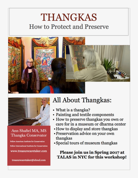 Conservators thangka workshop PDF