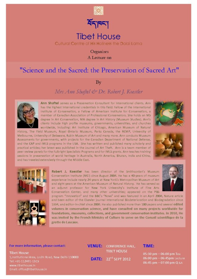 Science and Preservation of Sacred Art copy 3